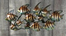 Metal Fish Wall Decoration