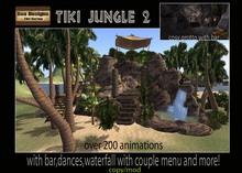 1120 OFF!Tiki Jungle 2 -tropical grotto -tropical waterfall