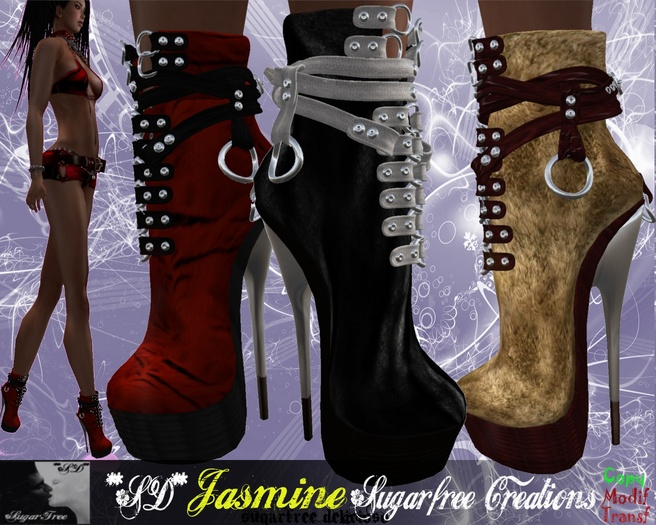 **SD** JASMINE Extreme High Heel Boots Stiletto (full colors)