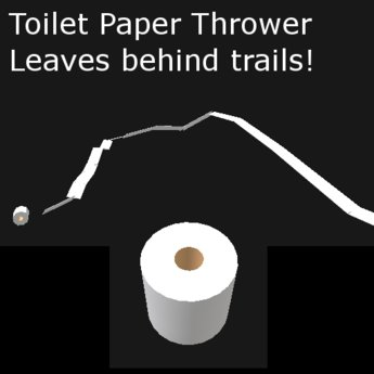 Toilet Paper Thrower