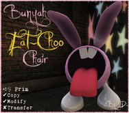 .:DooDaddles by D:. (Bunny EAT-CHOO Chair)