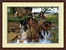 """American Native Art """"Dog Soldiers"""""""