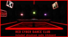 RED CYBER CLUB building and equipment