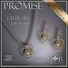 Necklace and Earring Set - Celtic Promise - Necklace Set - Gold - Lapointe & BastChild