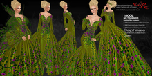 *DNR* Daphnaie Combo Collection in Green