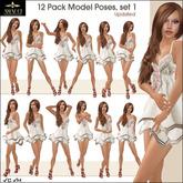Amacci ~ 12 Pack Model Poses, Set 1