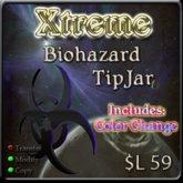 Xtreme Biohazard Tipjar