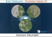 50% OFF SALE! RAW Terrain File: Flowers
