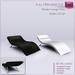 Full Perm Modern Lounge Chair - Home Furniture - Builder's Kit Set - FULL PERM