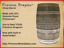 Precious Dragons Chow Barrel (Medium w/AutoFeeder)