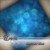 Dom - Abstract Blue Dollarbie