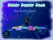 Pitter Patter Paws - Hop Scotch Game