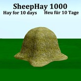 Sheep Hay 1000