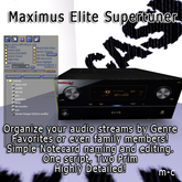 Maximus Elite2 Receiver, Create your own genres, unlimited stat