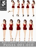 Apple Spice - Red Carpet Poses 001-010 Fatpack
