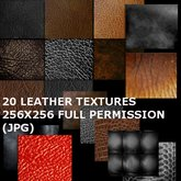 ::20 Full Perm Leather textures::
