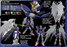 GD01-XXXG-00W0- Wing Gundam Zero Custom (Boxed)