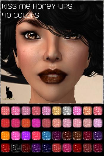 .:Glamorize:. Treasured Kisses Lips Fatpack (60 Colors)