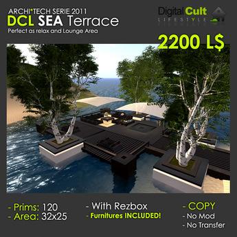 *** DCL Sea Terrace - Lounge Area