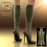 BAX Prestige Boots Olive Metallic