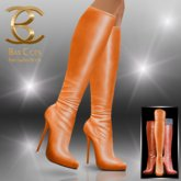 BAX Prestige Boots Orange Metallic