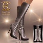 BAX Prestige Boots Taupe Metallic