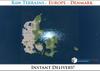 50% OFF SALE! RAW Terrain File: Europe - Denmark