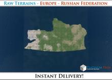 50% OFF SALE! RAW-Datei Terrain: Europe - Russian Federation
