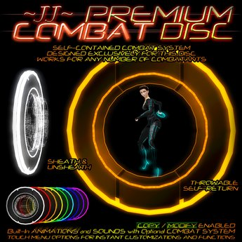 ~JJ~ Premium Combat Disc