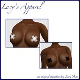 X tape (pasties) w/ Omega & Maitreya Appliers from Lacy Apparel Layers for BOM and classic included