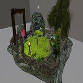 Mossms /  Meeroo Home/cave/garden