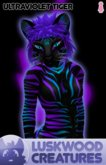 Luskwood Ultra Violet Tiger Furry Avatar - Female