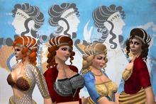 Minoan hair for biggies