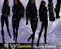 **SD**-XX Jasmine Outfit Extreme Outfit ( Black Blue Night Suit )