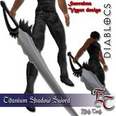 DIABLOCS Sword Shadow Titanium BOX