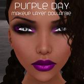 .:Glamorize:. Purple Day Makeup Dollarbie