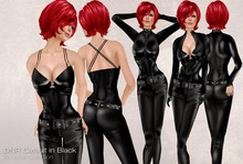 Nicky Ree Catsuits - Black CatSuit Set