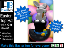 Easter Top Hat - Gives Gifts to Anyone!