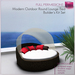 %50WINTERSALE Full Perm Modern Outdoor Round Lounge Bed - Outdoor Furniture Builder's Kit Set