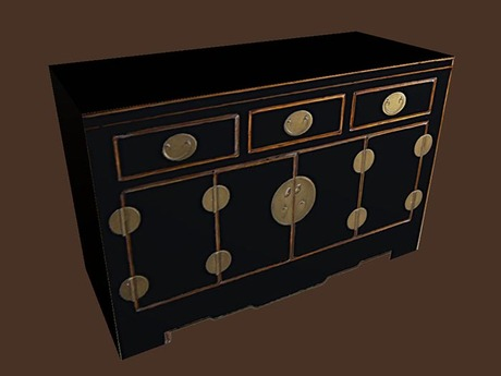 Asian Cabinet 2