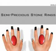 [DDL] Semi-Precious Stone Rings / Jasper (1)
