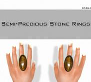[DDL] Semi-Precious Stone Rings / Tigers Eye (1)