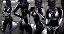 * PiXeL pUsS * ARK Soldier (White/Black) Jumpsuit Only
