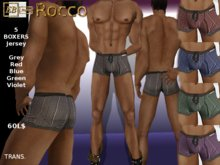 EB Atelier MEN- ROCCO 5 BOXER JERSEY -Wear it quickly!- italian designer