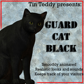 *TT* Animated Guard Animal - Cat - Black