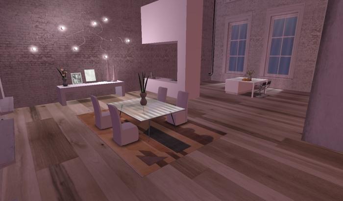 Designer Prims - Soho Skyloft, prefab,skybox,