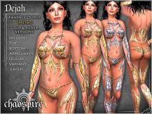 "Chaospire ""Dejah"" Fantasy Outfit (Metal)"