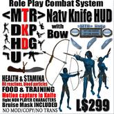 <MTR> Natv Knife HUD w/ Bow