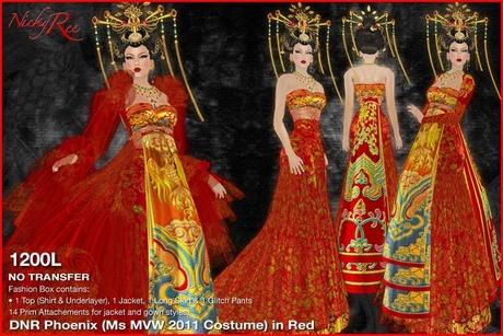 *DNR* Phoenix ( MVW 2011 COSTUME ) in Red
