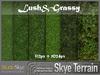 Skye Terrain Textures - Lush & Grassy 40 x 2 Full Perms Grass Terrain Textures